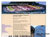 Informationen zur Webseite partyservice-wieland.de
