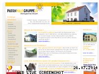 Informationen zur Webseite passivhausgruppe24.de
