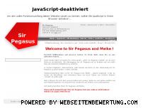 Ranking Webseite pegasus.mastermax.de