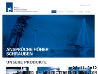 Ranking Webseite peiner-umformtechnik.de