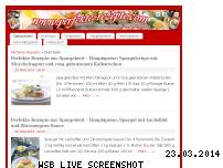 Ranking Webseite perfekte-rezepte.com