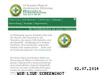 Informationen zur Webseite pflege-24h.org
