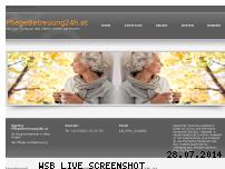 Informationen zur Webseite pflegebetreuung24h.at