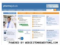 Ranking Webseite pharmajob.de