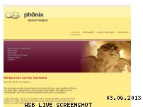 Ranking Webseite phoebes.de