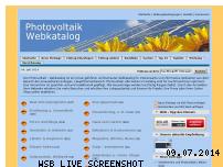 Informationen zur Webseite photovoltaik-webkatalog.de