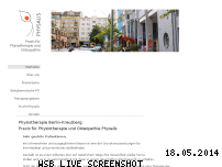 Informationen zur Webseite physiotherapie-kreuzberg-physalis.de