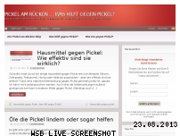 Ranking Webseite pickel-am-ruecken.com