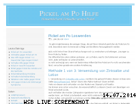 Bewertung pickelampohilfe.de