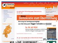 Ranking Webseite piratenpartei-hessen.de