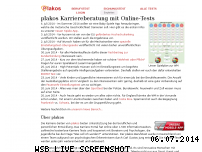 Informationen zur Webseite plakos.de