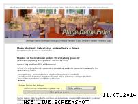 Informationen zur Webseite plane-deine-feier.de