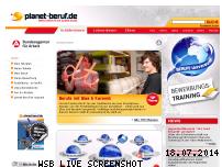 Informationen zur Webseite planet-beruf.de