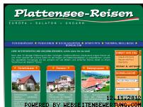 Ranking Webseite plattensee-balaton-ferienhaus.de