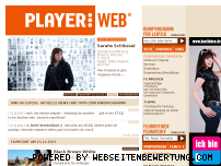 Ranking Webseite playerweb.de