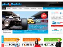 Ranking Webseite plentymarkets.eu