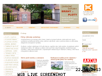 Ranking Webseite ploty-zahrady.com