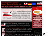Ranking Webseite pocket-rockets-berlin.de
