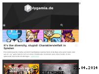 Ranking Webseite polygamia.de