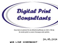 Ranking Webseite print-consultants.de