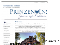 Ranking Webseite prinzeninsel-ploen.de