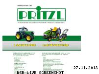 Ranking Webseite pritzl-landtechnik.de