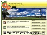 Ranking Webseite pro-heimbach-weis.de
