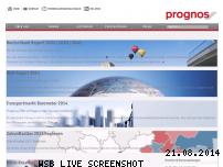 Informationen zur Webseite prognos.com