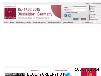 Ranking Webseite prowein.de
