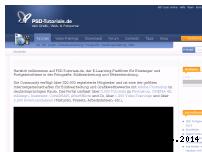 Informationen zur Webseite psd-tutorials.de