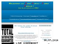 Informationen zur Webseite psfp.de