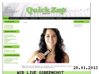 Ranking Webseite quickzap.ch