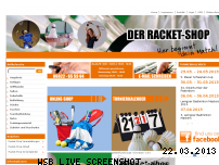 Ranking Webseite racket-shop.de