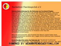 Ranking Webseite rackwitzer-faschingsclub.de
