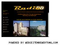 Ranking Webseite radio-88.de