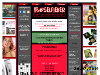 Informationen zur Webseite raetselfieber.de