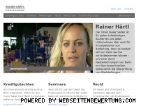 Ranking Webseite rainerhaertl.de