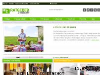 Informationen zur Webseite ratgeberzentrale.de