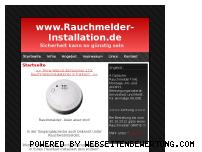 Informationen zur Webseite rauchmelder-installation.de