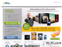Informationen zur Webseite rebuy.de