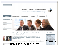 Informationen zur Webseite rechtsanwaelte-marienplatz.de