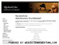 Ranking Webseite reckenecke.de