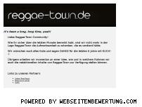 Ranking Webseite reggae-town.de