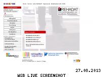 Ranking Webseite rehadat.de