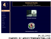 Ranking Webseite reinhard-pantke.de