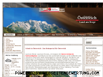 Ranking Webseite reise-nach-oesterreich.de