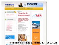 Ranking Webseite reiseakademie.de