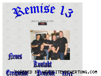 Ranking Webseite remise13.de
