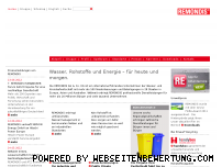 Ranking Webseite remondis.de