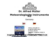 Ranking Webseite rfuess-mueller.de